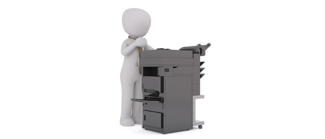 réparation du photocopieur